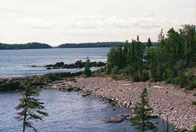 The Lake Superior wilderness archipelago of Isle Royale N.P.