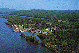 Michigan's northern-most settlement, founded in 1848 during the Copper Rush